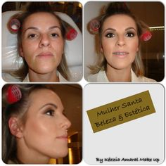 Make casual evento / dia... Tons terracota! By Kézzia Amaral Make Up