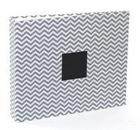 Gray Chevron 12X12 D-Ring  Patterned Album. I am LOVING these chevron albums.