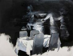 "Saatchi Art Artist: Julien Spianti; Oil on paper 2013 Painting ""Sketches 2013"""