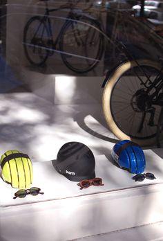 Sunglasses and helmets, winning combination @SlowroomMadrid