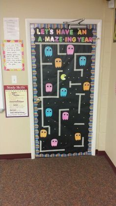 August 2015- my junior high classroom is game themed!!!