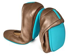 Metallic Bronze Tieks.  I just ordered these! I just need some cute outfits to go with them.