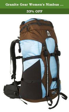 0ee3919bf Granite Gear Women's Nimbus Meridian Ki Backpack (Cocoa/Ether, Regular  Torso).
