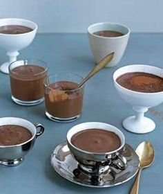 Chocolate Pots recipe