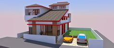 Beberapa developer memiliki gagasan untuk membangun perumahan yang sedang mereka rencanakan dengan konsep kavling taman. Beberapa kota d... Construction, How To Plan, Mansions, House Styles, Design, Home Decor, Building, Decoration Home, Manor Houses