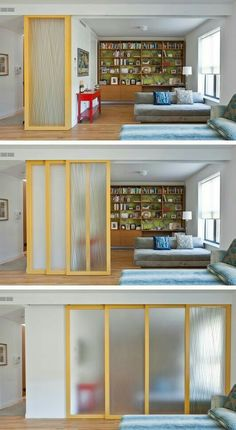 (for Privacy While Maintaining An Open Feel) 29 Sneaky Tips For Small Space  Living