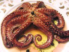 Octopus, Dinner Recipes, Desserts, Food, Tailgate Desserts, Deserts, Essen, Postres, Meals