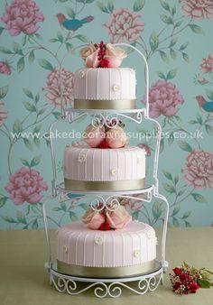 Three Tiers Wedding Cakes Pix