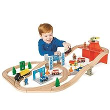 Imaginarium - Rescue Train Set. $35 Toys R Us. Nova loves building her train sets, she already has the Enchanted Princess set so any other sets are great, or filler packs like the Curved Rails Set. :)