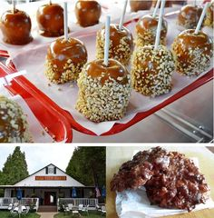 Caramel Apples and Apple Fritters from Mill View Ranch