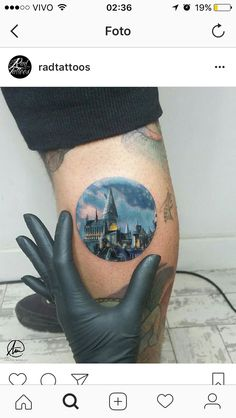 #tatoo #tatuagem #HP #HarryPotter
