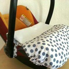 babyschalenbez ge maxi cosi decke kindersitzdecke ein designerst ck von vogtlandbiene bei. Black Bedroom Furniture Sets. Home Design Ideas