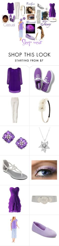 """""""Evalyne Garmadon (LS)"""" by athenaeworth ❤ liked on Polyvore featuring Phase Eight, Keds, Armani Jeans, Charlotte Russe, Kerr®, La Preciosa, G by Guess, Fairly, Earth Angels and Dearfoams"""