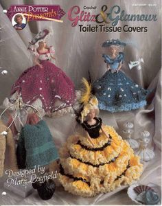 Free Copy of Pattern - Glitz Glamour Toilet Tissue Covers