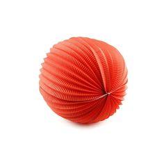 Enfeite Acordeon 30cm Vermelho