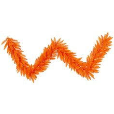 "9' x 14"""" Orange Fir Garland 250T"