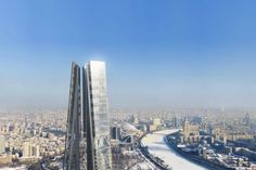Russia Tower - Courtesy of Foster + Partners