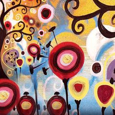 Bright Colorful Art | To download the wallpaper to your iPad, just hold your finger on the ...