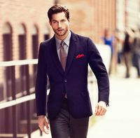 Fancy - Houndstooth Check Blazer by Massimo Dutti