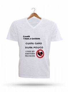 Camisetas Diversos Modelos - Gasolina MO8899