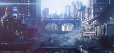 Final Fantasy XV | Kingsglaive | Insomnia city view, Paul Chadeisson on ArtStation at https://www.artstation.com/artwork/JB0B0