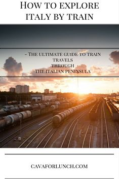 Italy by train