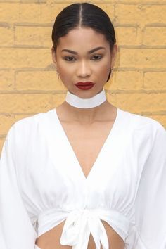Chanel Iman nails between season beauty. Here are 100 other tricks and must-have products behind the prettiest hair and makeup looks on the red carpet: