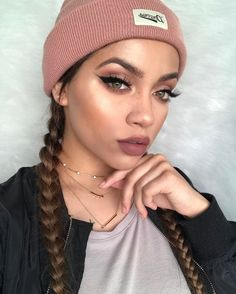 "6,500 Likes, 35 Comments - Myesha Polnett (@mua_myesha) on Instagram: ""Hiiii  @benefitcosmetics precisely my brow pencil in 5 #benefitcosmetics  @toofaced sweet peach…"""