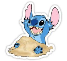 HAPPY STITCH Sticker