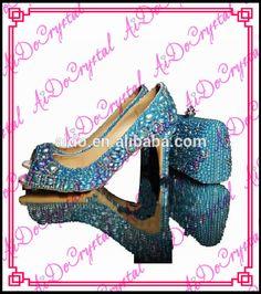 Trouver plus Ballerines pour femmes Informations sur Aidocrystal couleur bleue à la main perles dames faible chaussures à talons et bleu cluth sac, de haute qualité talons de chaussures robe, chaussures puantes Chine Fournisseurs, pas cher enfants chaussures habillées de Aido Crystal sur Aliexpress.com