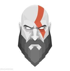 [Image] A couple graphic Illustrations I made in anticipation for the new God of war game coming out tomorrow. So stoked! God Of War Game, Kratos God Of War, Anime Toon, Comic Layout, Marvel Fan Art, Anime Weapons, Poses References, Tattoo Project, New Gods