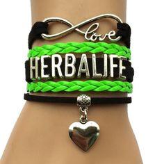 Love Herbalife Bracelet- Silver