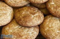Skinny Snickerdoodle Cookies. Sub Almond flour for whole wheat flour