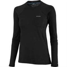 Womens Columbia Base Layer Midweight Ls Top Size Medium
