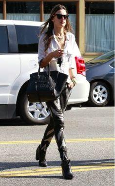 Social Wardrobe: Alessandra Ambrosio Street Style