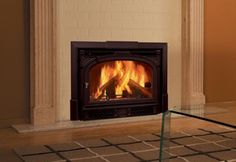 cast iron fireplace inserts wood burning with blower
