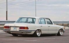 #low #gentlemancar #Mercedes #w116