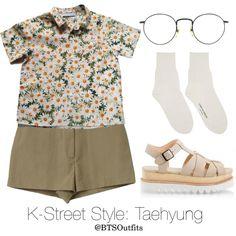 K-Street Style: Taehyung