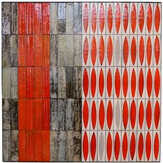 Roger Capron - Art Tiles for Wall Decoration - Vallauris - France - circa 1960 1