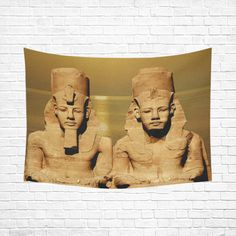 """Temple of Sun Cotton Linen Wall Tapestry 80""""x 60"""". FREE Shipping. #artsadd #tapestries #egypt"""