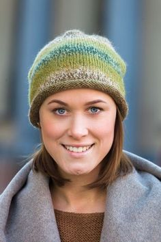 91566. MÖSSA MED RULLKANT Knitted Hats, Winter Hats, Knitting, Fashion, Threading, Moda, Tricot, Fashion Styles, Breien