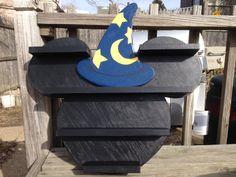 Disney inspired Sorcerer display shelf for Vinylmation, Infinity figures, or other figures.