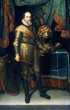 Maurits prins van Oranje (prince of orange) - Michiel Jansz van Mierevelt