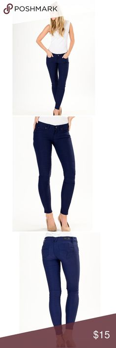 YMI Super Skinny Jegging These are called leggings but are more like jeggings or very stretchy jeans. They are A dark blue denim. They are really nice and figure flattering. YMI jeans are known for giving you a nice booty!!! I've rarely worn these though. They don't get much wear since I have a corporate job. Fair offers accepted. NO TRADES YMI Jeans Skinny