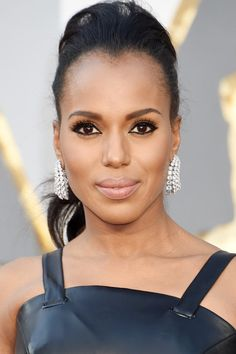 Kerry Washington Stole the Oscars Red Carpet in the Most Subtle Way