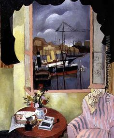 """Window at Marseilles"" by Christopher Wood, 1927"