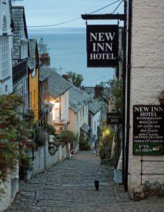 New Inn Hotel, Clovelly, Devon, S.W England