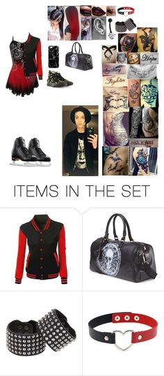"""""""A professional ice skater and a singer"""" by bvb-lover6 ❤ liked on Polyvore featuring art"""