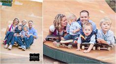 Skateboard Family Photos