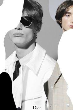 S/S 16: Dior Homme by Nicolás Santos.